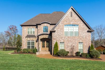 Mount Juliet TN Single Family Home For Sale: $639,900