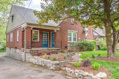 Nashville Single Family Home For Sale: 2710 Woodlawn Dr
