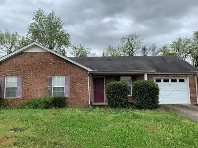 Christian County, Ky, Todd County, Ky, Montgomery County Single Family Home For Sale: 1256 Silver Star Dr