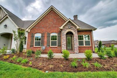 Sumner County Single Family Home For Sale: 160 Winslow Court Lot 115
