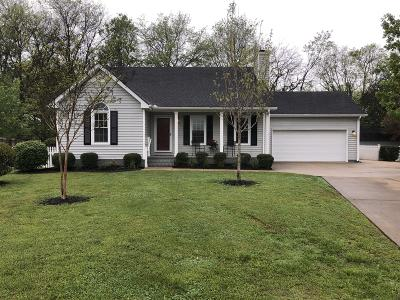 Single Family Home Under Contract - Showing: 225 Turtle Rock Ct