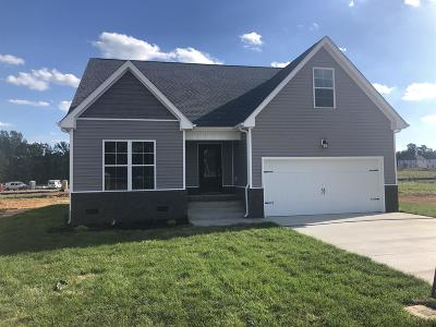 Clarksville TN Single Family Home Under Contract - Not Showing: $210,000