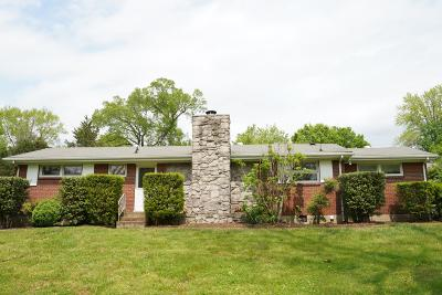 Davidson County Single Family Home For Sale: 2414 Vale Ln