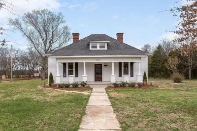 Eagleville Single Family Home Under Contract - Not Showing: 2517 Taylor Ln
