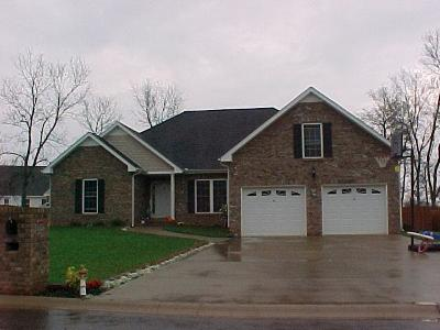 Clarksville Single Family Home Under Contract - Not Showing: 3888 Parade Dr