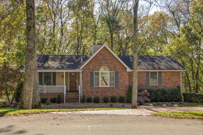 Goodlettsville Single Family Home Under Contract - Showing: 1006 E. Cynthia Trail