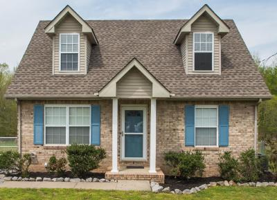 Christian County, Ky, Todd County, Ky, Montgomery County Single Family Home Under Contract - Not Showing: 709 Anita Ct
