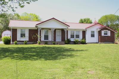 Davidson County Single Family Home For Sale: 107 Hardaway Dr