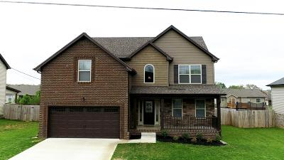 Clarksville Single Family Home For Sale: 1006 Sunrise Dr