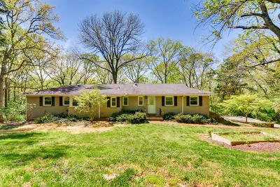 Davidson County Single Family Home For Sale: 4619 Shys Hill Rd