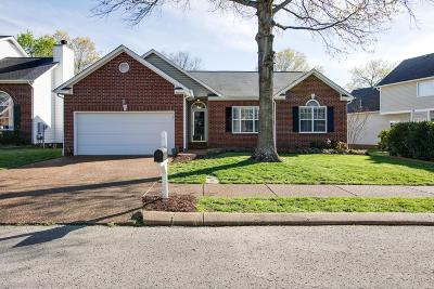 Franklin Single Family Home For Sale: 105 Cavalcade Dr