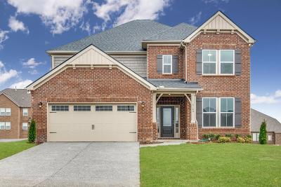 Mount Juliet Single Family Home For Sale: 5180 Giardino Drive Lot #101