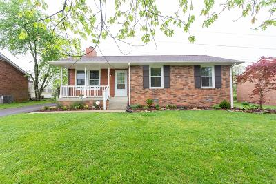 Hendersonville Single Family Home Under Contract - Showing: 238 Township Dr
