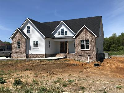 Murfreesboro TN Single Family Home Under Contract - Not Showing: $479,000