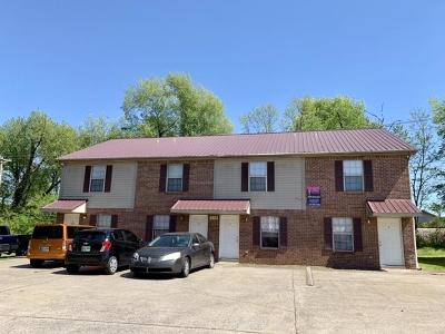 Clarksville Multi Family Home Under Contract - Not Showing: 119 Hickory Trce