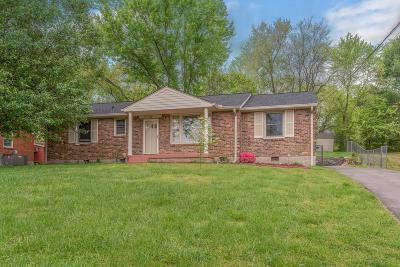 Nashville Single Family Home For Sale: 216 Eldon Ct
