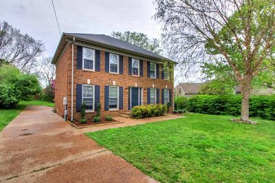 Nashville Single Family Home For Sale: 7324 River Park Dr
