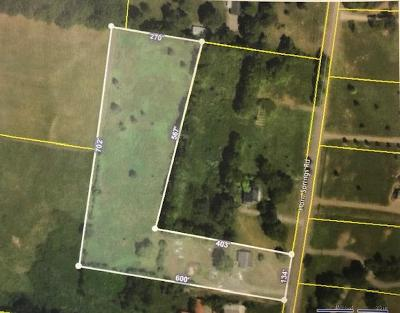 Residential Lots & Land For Sale: 3198 Horn Springs Rd