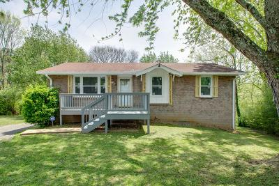 Davidson County Single Family Home For Sale: 267 Delvin Ct