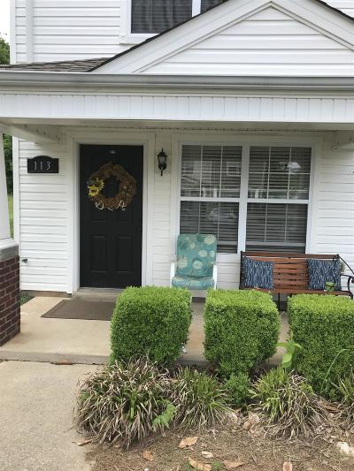 Christian County, Ky, Todd County, Ky, Montgomery County Condo/Townhouse Under Contract - Not Showing: 113 Alexander Blvd