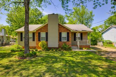 Lavergne Single Family Home Under Contract - Showing: 109 Gale Ln