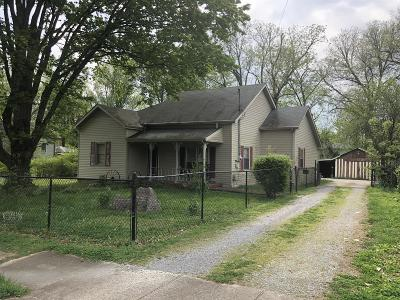 Murfreesboro Single Family Home For Sale: 627 N Maney Ave