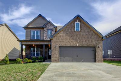 Clarksville Single Family Home For Sale: 1762 Ellie Piper Cir