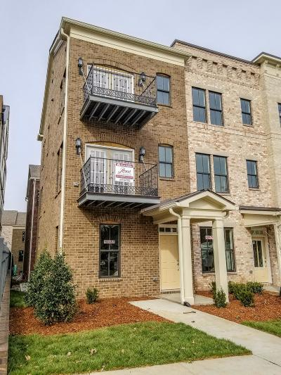 Nashville Condo/Townhouse For Sale: 3208 D Long Boulevard, Lot #4