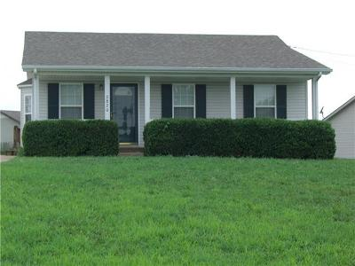 Clarksville Rental For Rent: 2820 Rome Lane