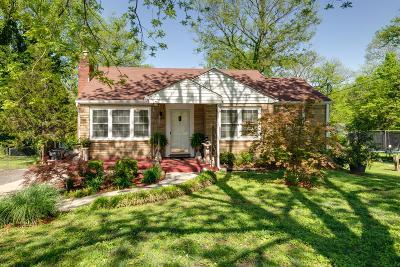 Nashville Single Family Home For Sale: 2335 Fernwood Dr
