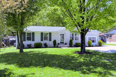 Goodlettsville Single Family Home Under Contract - Showing: 361 Janette Ave