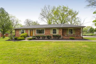 Nashville Single Family Home For Sale: 804 N Joyce Ln