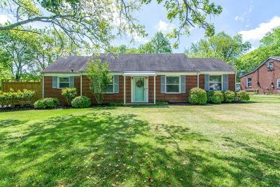Nashville Single Family Home For Sale: 1312 Haysboro Ave