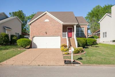 Old Hickory Single Family Home For Sale: 1460 Aaronwood Dr