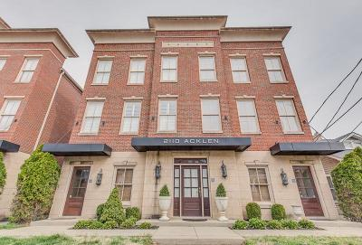 Nashville Condo/Townhouse For Sale: 2110 Acklen Ave Apt 101