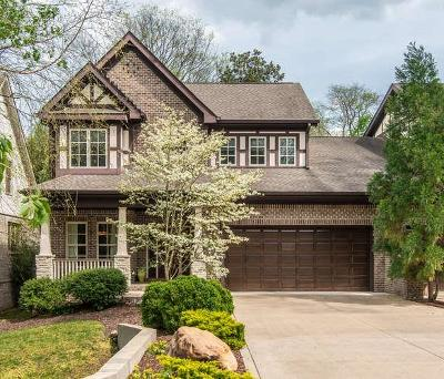 Nashville Single Family Home For Sale: 2917 Wellesley Trace