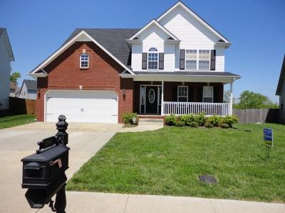 Clarksville Rental For Rent: 1309 Chinook Circle