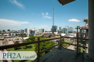 Nashville  Condo/Townhouse For Sale: 20 Rutledge St #610