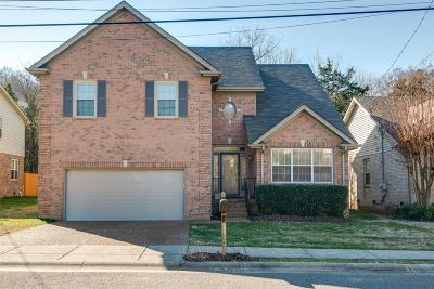 Nashville Single Family Home For Sale: 664 Williamsport Ct