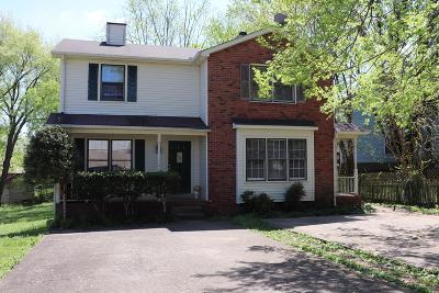 Murfreesboro Multi Family Home Under Contract - Not Showing: 1051 Silver Point Dr