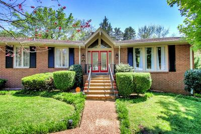 Nashville Single Family Home For Sale: 7233 Birch Bark Dr