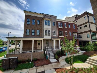 Nashville Condo/Townhouse For Sale: 201 B Burns Avenue, Lot #6