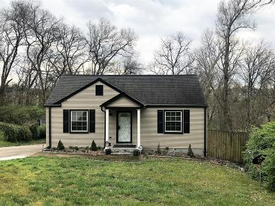 Nashville Single Family Home For Sale: 2233 Maplecrest Dr