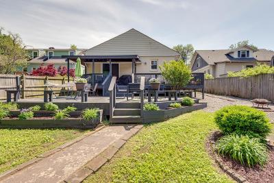 Nashville Single Family Home For Sale: 939 Seymour Ave