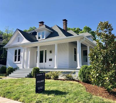 12 South Single Family Home Active Under Contract: 1000 Gilmore Ave