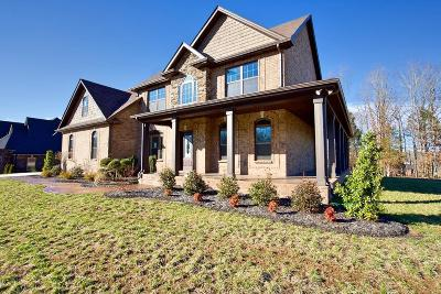 Clarksville TN Single Family Home Under Contract - Not Showing: $393,400