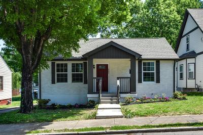 Nashville Single Family Home For Sale: 309 N 9th St