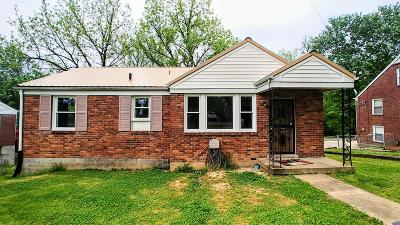 Clarksville TN Single Family Home For Sale: $49,900