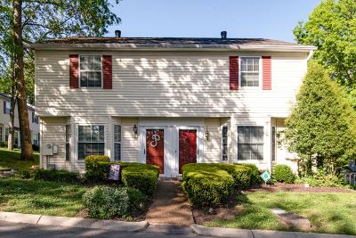 Davidson County Condo/Townhouse Under Contract - Showing: 217 Hickory Forge Dr