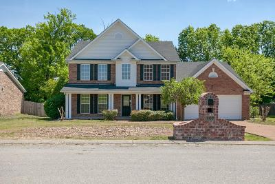 Lavergne Single Family Home Under Contract - Not Showing: 207 Briarcotes Cir